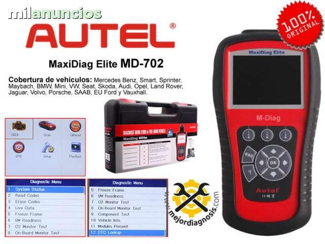 MAQUINA DIAGNOSIS AUTEL MD702-4 ORIGIN - foto 1