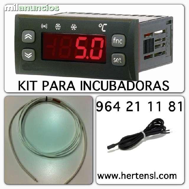 CONTROL DE TEMPERATURA PARA INCUBADORAS - foto 1