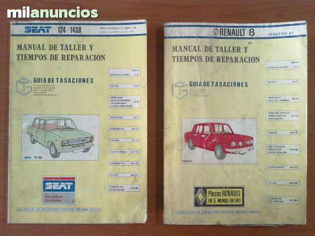 LOTE MANUALES COCHES CLASICOS - foto 1