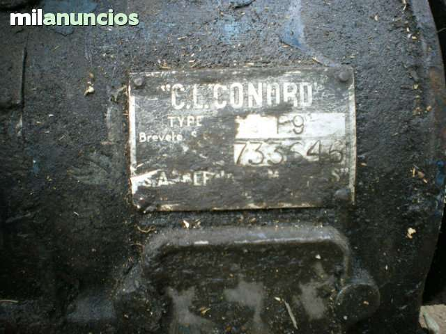 MOTOR ESTATICO  C.  L .  CONORD - foto 2