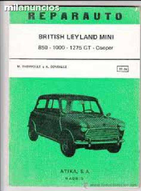 LIBRO REPARAUTO BRITISH LEYLAND MINI - foto 1
