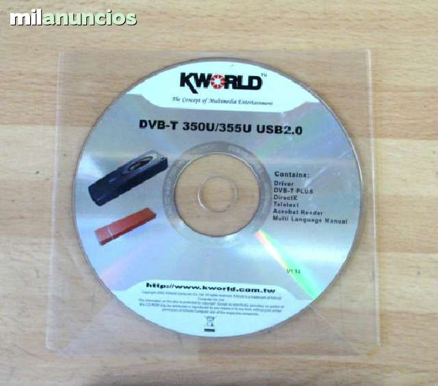 DRIVERS FOR KWORLD VS DVBT 355U