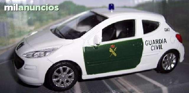 Peugeot 207 Guardia Civil Escala 1:43 De