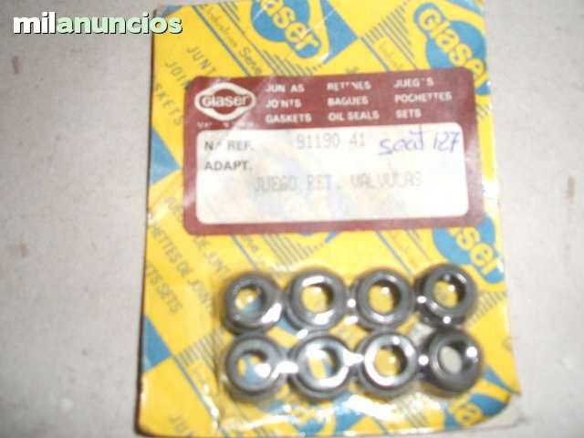 JUEGO DE RETENES VÁLVULAS SEAT 127 - foto 1