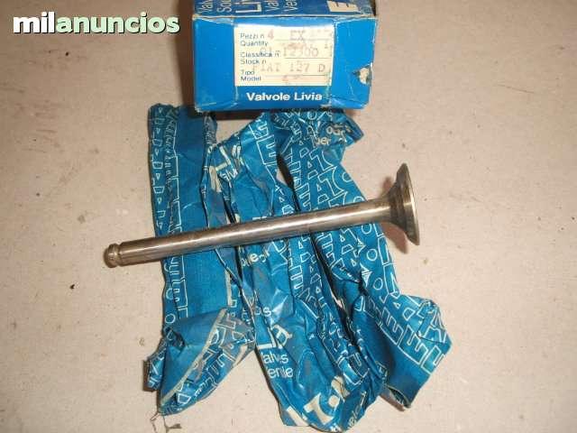 JUEGO DE VÁLVULAS SEAT 127 D - foto 1