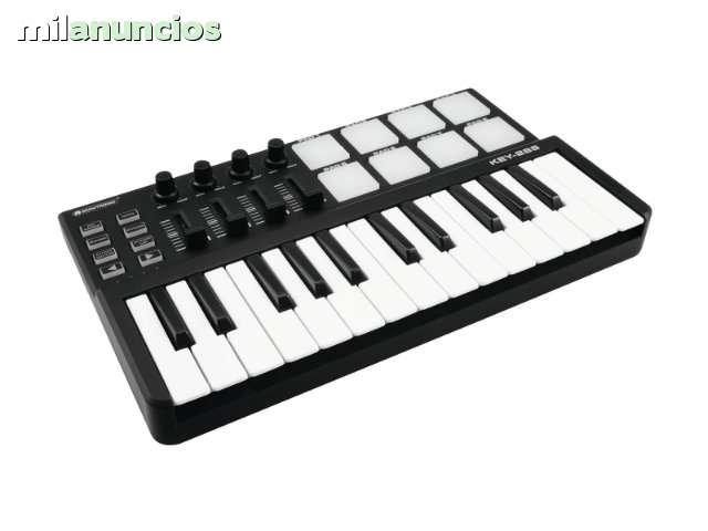 TECLADO MIDI USB PARA PRODUCCION MUSICAL - foto 1
