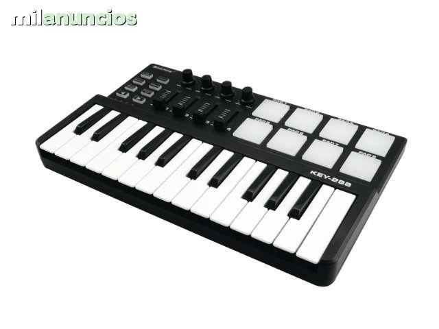 TECLADO MIDI USB PARA PRODUCCION MUSICAL - foto 2