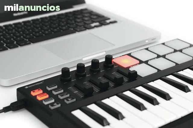 TECLADO MIDI USB PARA PRODUCCION MUSICAL - foto 3