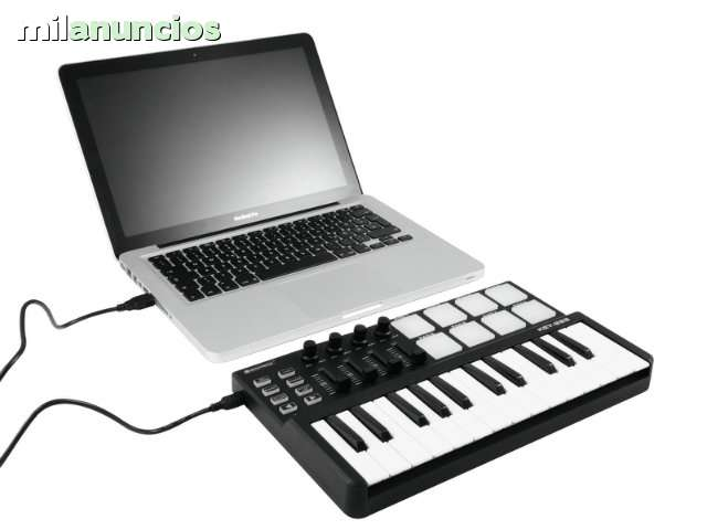 TECLADO MIDI USB PARA PRODUCCION MUSICAL - foto 4