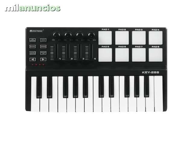 TECLADO MIDI USB PARA PRODUCCION MUSICAL - foto 5