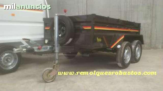 REMOLQUE DE 2 EJES REFORZADO - foto 5