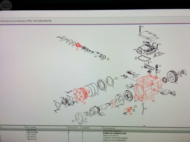 BOMBA INYECTORA BOSCH VP44 AUDI A6,  2. 5 - foto 7