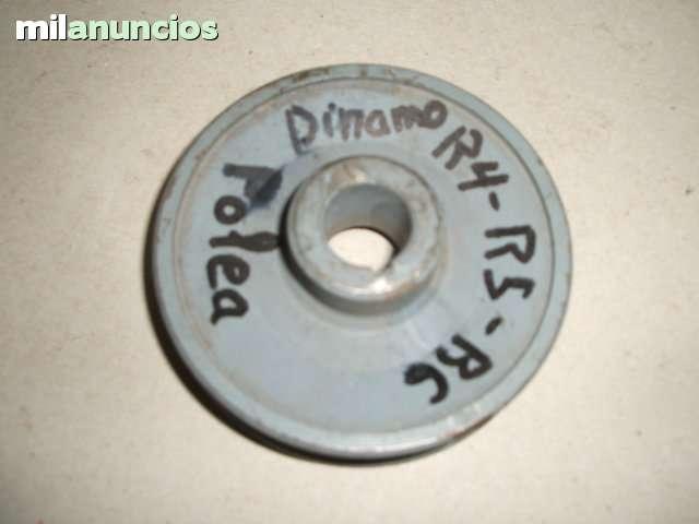 POLEA DINAMO RENAULT 4,  5,  6,  7 - foto 1