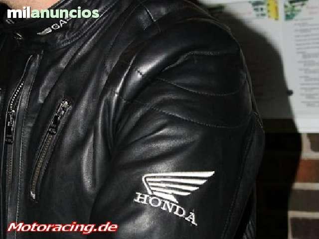 CAZADORA CHAQUETA PIEL HONDA RACING - foto 4