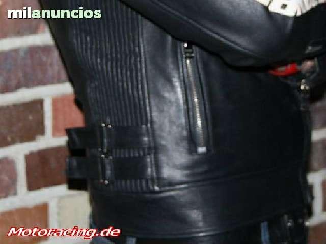 CAZADORA CHAQUETA PIEL HONDA RACING - foto 5