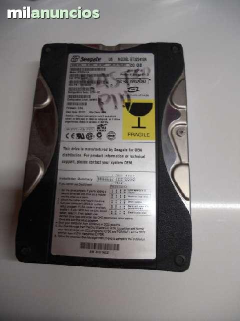 DISCO DURO 20 GB IDE SEAGATE ST320410A - foto 1