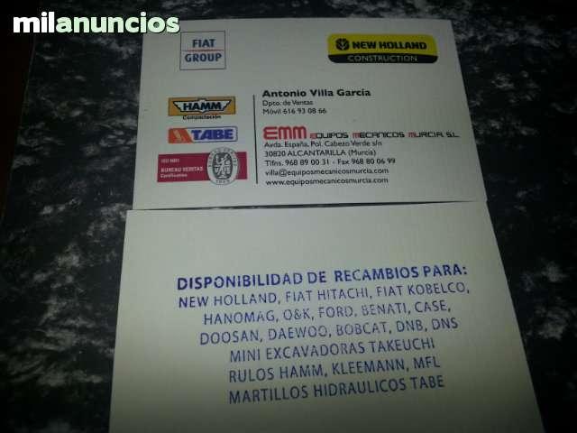 RECAMBIOS ESPECIALES CASE HANOMAG FIAT - foto 1