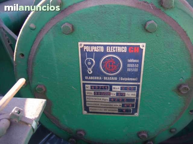 PUENTE GRÚA VIRRAIL 4TN 12MT - foto 2