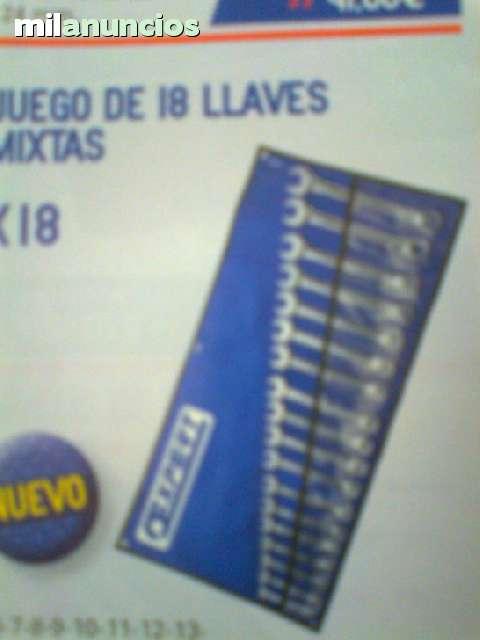 JUEGO DE 18 LLAVES MIXTAS  MARCA EXPERT - foto 1