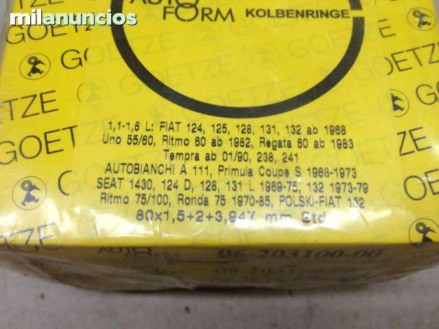 SEGMENTOS SEAT 80 MM SEAT 124, 1430, 131,  - foto 4
