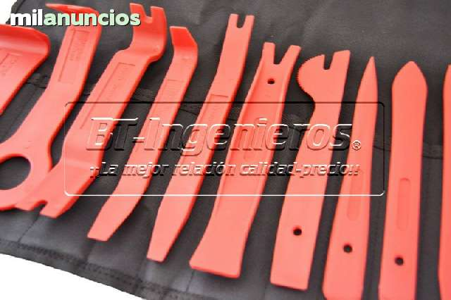 JGO 11 PALANCAS EXTRACCIÓN TAPICERÍA - foto 4