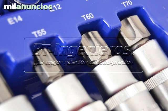 JUEGO DE 27  PIEZAS TORX.  VASOS Y PUNTAS - foto 5