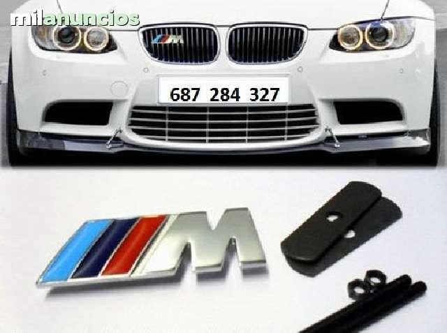 EMBLEMA BMW M DE PARRILLA DE MÉTAL NUEVO - foto 1