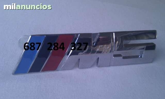EMBLEMA PARRILLA BMW M3 Y M5 DE MÉTAL - foto 3