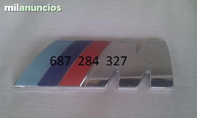 EMBLEMA BMW M DE MÉTAL NUEVO - foto 1