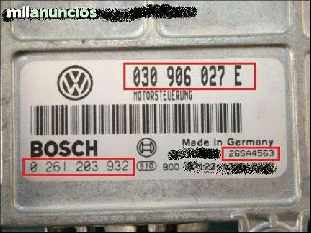 CENTRALITA VW POLO BOSCH 0 261 203 932 - foto 2