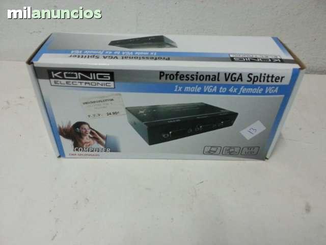 SPLITTER VGA - KONIG ELECTRONIC - foto 1