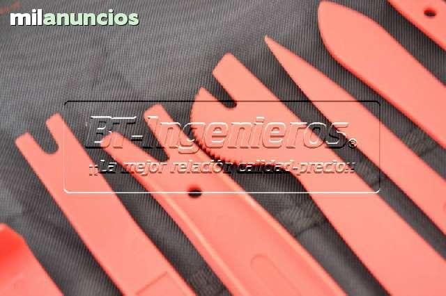JGO 11 PALANCAS EXTRACCIÓN TAPICERÍA - foto 5
