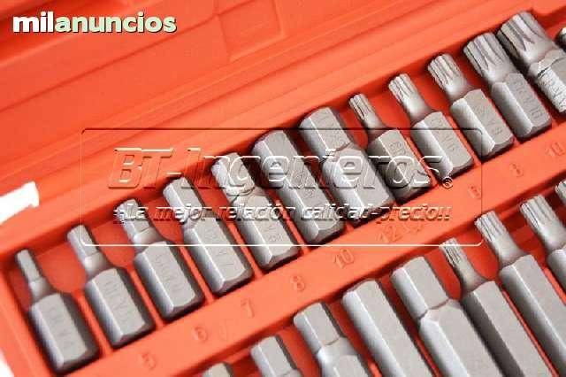 JUEGO DE 40 PZ.  PUNTAS TORX,  HEX Y XZN.  - foto 5