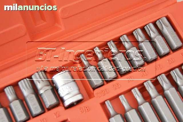 JUEGO DE 40 PZ.  PUNTAS TORX,  HEX Y XZN.  - foto 6