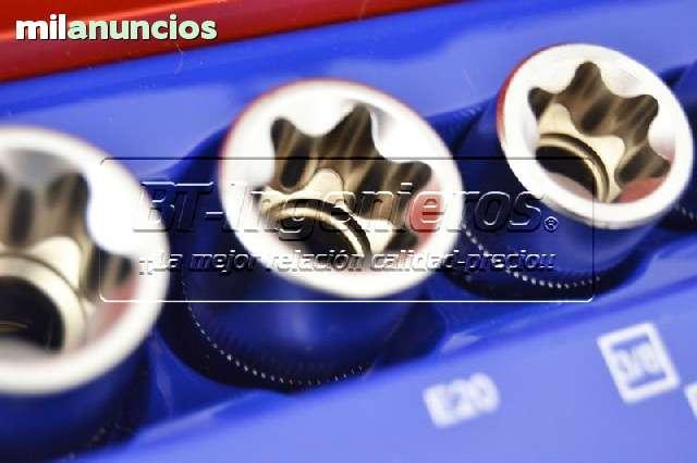 JUEGO DE 27 PIEZAS TORX.  VASOS Y PUNTAS - foto 6