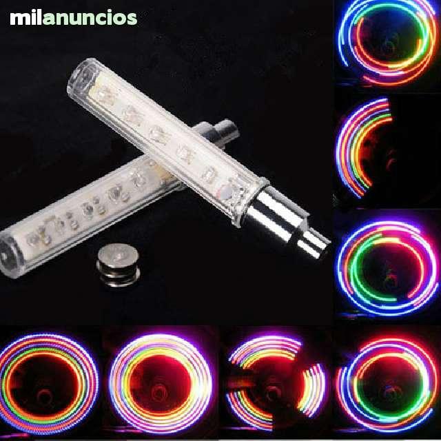 2 X VÁLVULAS DE 5 LEDS PARA RUEDAS - foto 3