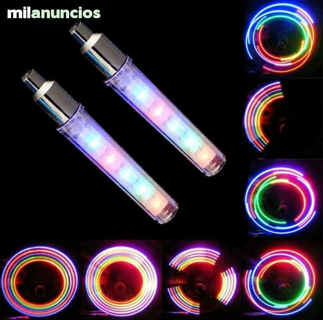 2 X VÁLVULAS DE 5 LEDS PARA RUEDAS - foto 5