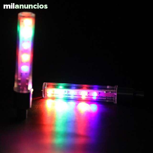 2 X VÁLVULAS DE 5 LEDS PARA RUEDAS - foto 2