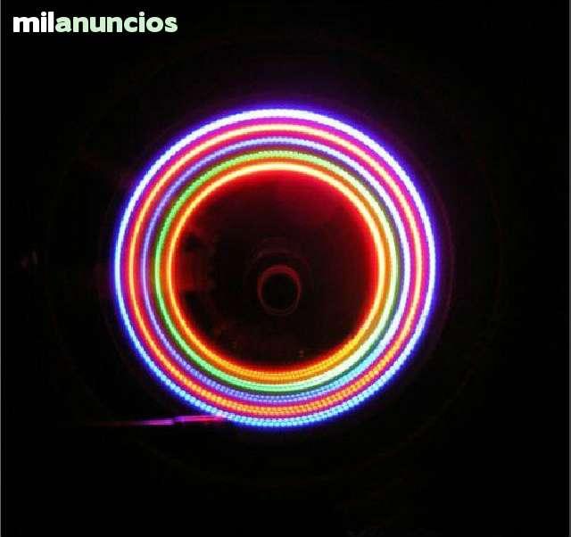 2 X VÁLVULAS DE 5 LEDS PARA RUEDAS - foto 4