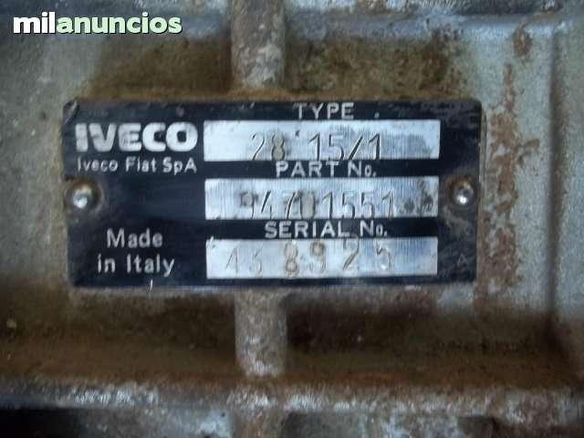 CAJA DE CAMBIOS IVECO 2. 5D  92 FAROS - foto 2