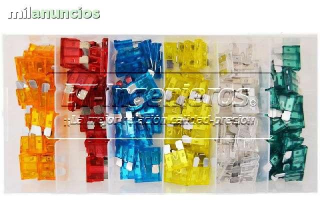JUEGO 120 FUSIBLES COCHE DE 5 A 30 AMP - foto 2