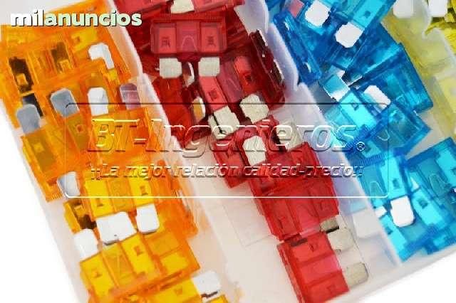 JUEGO 120 FUSIBLES COCHE DE 5 A 30 AMP - foto 3