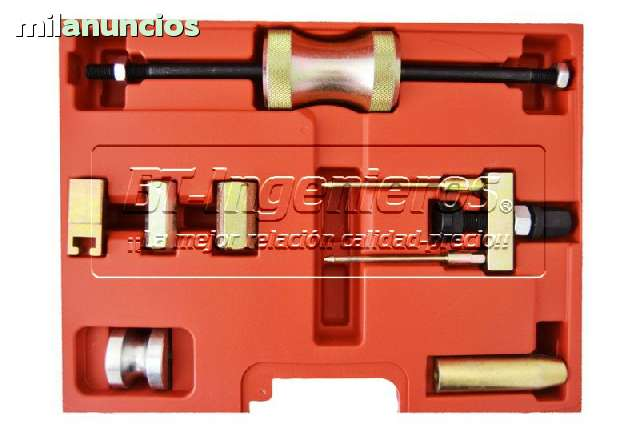 KIT EXTRACTOR INYECTORES VAG TDI.  7PZ.  - foto 2