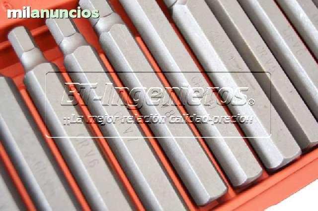 JUEGO DE 40 PZ.  PUNTAS TORX,  HEX Y XZN.  - foto 4