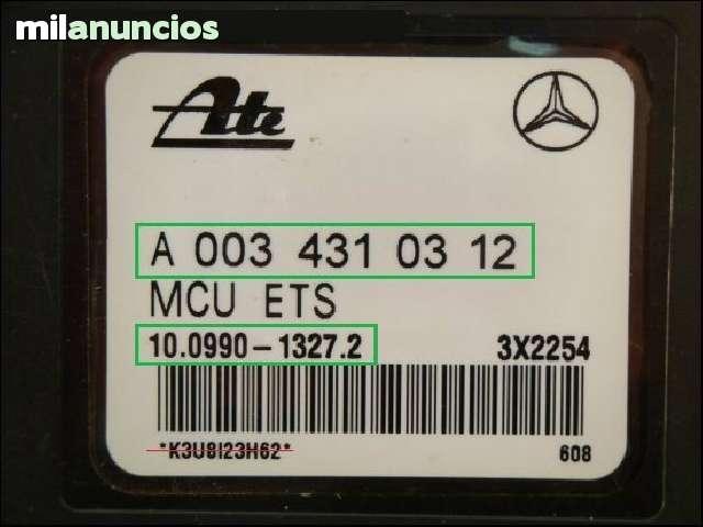 BOMBA ABS MERCEDES CLK A0034310312 - foto 2