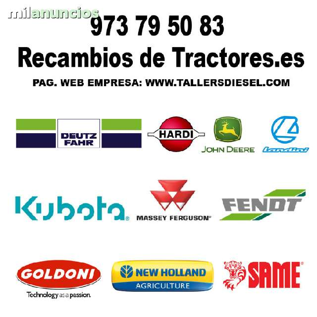 TALLERS DIESEL - RECAMBIOS DE TRACTORES - foto 1