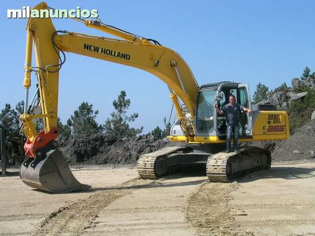 RETROEXCAVADORA NEW HOLLAND E265ELM - foto 2