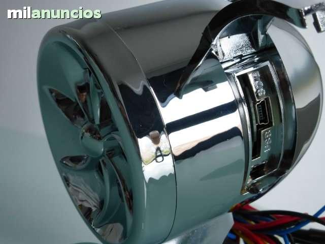 EQUIPO DE MUSICA MOTO ALARMA MP3 ALTAVOZ - foto 4