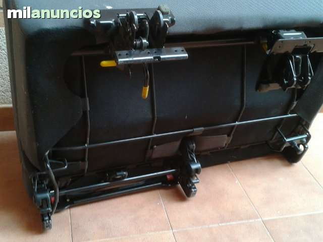 ASIENTO DOBLE PLEGABLE CON CINTURONES - foto 4