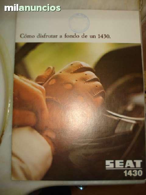 CATALOGO ORIGINAL SEAT 1430  1971 - foto 1